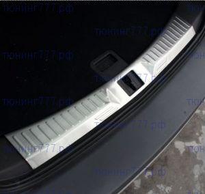 Накладка на внутренний проем двери багажника, нерж. сталь