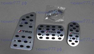 Накладки на педали Nouble, алюминий, с логотипом TRD, а/м с Акпп