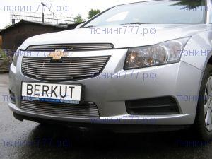 Решетка радиатора Berkut, нерж. сталь, 2ч., а/м 2008-2012