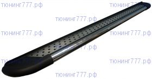 Боковые подножки Can, серия Topaz, алюминий, труба нерж. сталь, к-кт