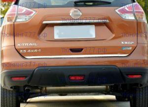 Накладка на крышку багажника, кант, нерж. сталь