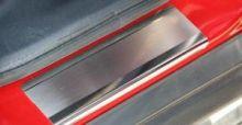 Накладки на пороги Souz, нерж. сталь