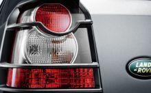Накладки задних фонарей, черные, Оригинал на 2007-2011