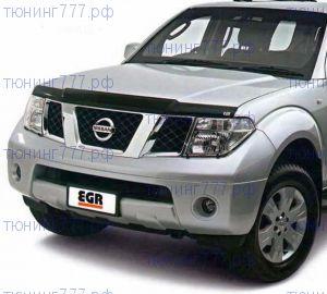 Дефлектор капота Egr, темно-дымчатый, а/м 2005-2009