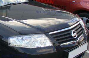 Дефлектор капота, Egr, темнодымчатый, с логотипом
