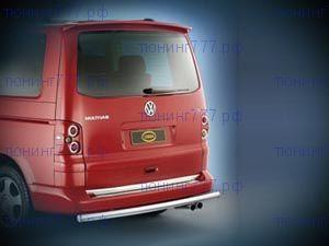 Защита заднего бампера Cobra, нерж. сталь ф 60мм., а/м Multivan и Transporter
