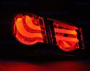 Задняя LED оптика, BMW F10 стиль, комплект