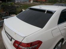 Спойлер на крышку багажника, копия AMG, под окраску