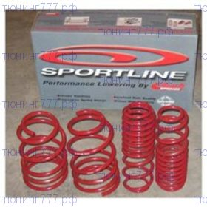 Пружины EIBACH, серия Sportline, к-кт занижения для RS (2.0л TSI)