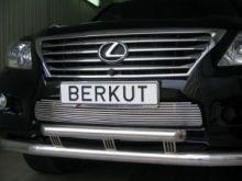 Решетка в бампер, Berkut, полированая нерж. сталь