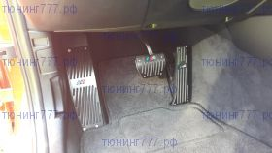 Накладки на педали, алюминиевые c лого M Power, а/м с Акпп