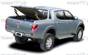 """Крышка кузова, TopUp TS-II, с защитными дугами и рейлингами (цвет """"Titanium"""" - серый, код A02), для DCab"""