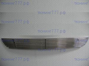 Решетка в бампер, Berkut, нерж. сталь, а/м 2007-2010
