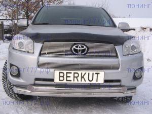 Решетка радиатора Berkut, нерж. сталь, а/м 2008-2010
