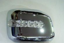 Накладки на зеркала со встроеным LED повторителем, хром