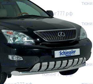 Защита переднего бампера Schiessler, нерж. сталь ф 76мм., RX300/350