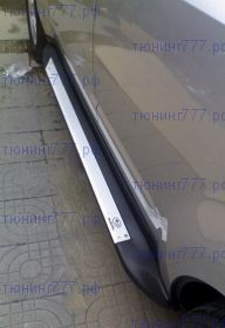 Подножки боковые, cnt4x4, к-кт