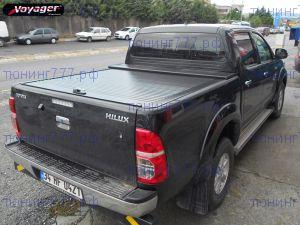 Крышка кузова Voyager, алюминиевая сдвижная, цвет черный (возможен белый)