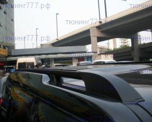 Рейлинги крыши, cnt4x4, чёрный к-кт