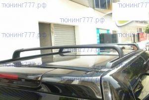 Рейлинги крыши с поперечинами, cnt4x4, чёрный к-кт