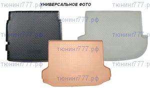 Коврик (поддон) в багажник, Unideс, черный полиуретан
