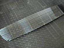 Решетка радиатора Precision, полированый алюминий