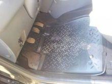 Коврики в салон, Unidec, полиуретановые черные, с бортиком, для 2WD