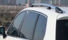 Рейлинги на крышу, Voyager, отполированый алюминий, эффект хрома