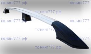Рейлинги на крышу, Voyager, алюминиевые, эффект хрома, короткая и средняя базы