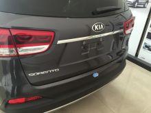 Накладка на крышку багажника, cnt4x4, хром с логотипом