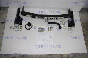 Фаркоп Souz-96, крюк на 2х болтах с нерж. накладкой, логотип, тяга 1.5т