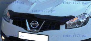 Дефлектор капота Egr, темно-дымчатый, с логотипом