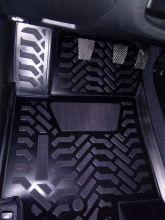 Коврики в салон, Aileron, 3D полиуретановые, черные