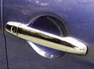 Накладки на ручки дверей, Egr, хром
