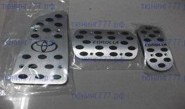 Накладки на педали, cnt4x4, алюминий, а/м с Акпп