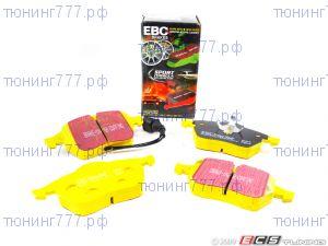 Тормозные колодки EBC, серия Yellow Stuff, передний к-кт на 2.4 и 3.0л