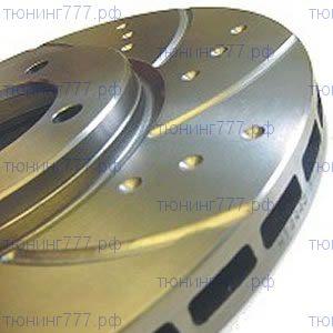 Тормозные диски задние, EBC, серия TurboGroove, V - 2.7 TD 2009-2011г.в.