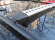 Багажник на рейлинги, FicoPro, аэродинамические дуги