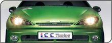 Реснички на фары, ICC TUNING, под покраску