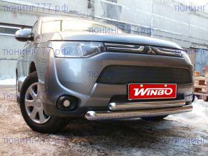 Защита переднего бампера, Winbo, нерж. сталь 63/76мм., а/м 2012-05.2014
