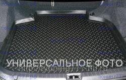 Коврик в багажник, Unidec, полиуретановый черный, с бортиками