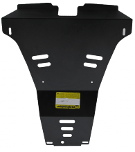 Защита заднего бампера Motodor, сталь 2мм., V - 2.0 и 2.5л