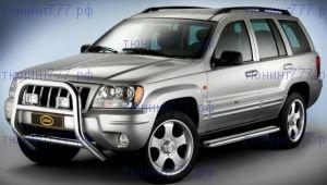Защита переднего бампера, Cobra,  хромированная сталь ф 80мм., а/м 2003-2005
