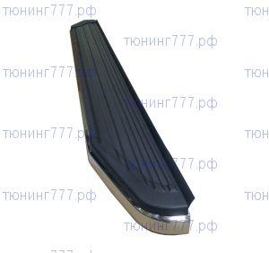 Боковые подножки, Agt4x4, нерж. сталь с пластиковой накладкой