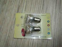 Светодиодные LED лампы, цоколь 1157, на габарит/стопсигнал, 24 диода