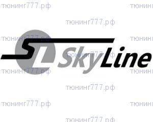 Ветровики 2х окон, SkyLine, темно-дымчатые
