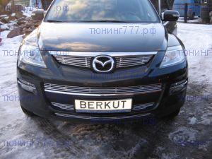 Решетка радиатора, Berkut, полированая нерж. сталь 2шт, а/м 2007-2009