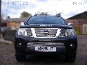 Решетка радиатора, Berkut, нерж. сталь, а/м с 2010-