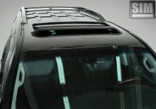 Козырек (дефлектор) люка, SIM, темно-дымчатый