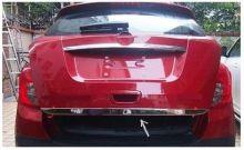 Накладка (кант) на низ двери багажника, Omsaline, нерж. сталь